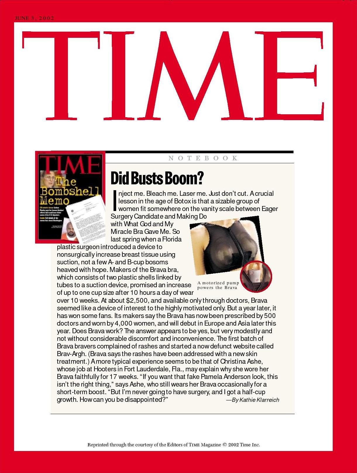 Time Magazine 時代雜誌2002